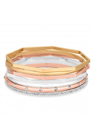 Mixed Plate Multi-Coloured Multipack Stretch Bracelet