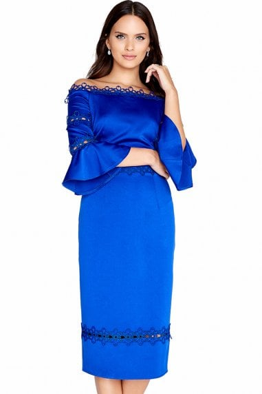 Cobalt Trim Bodycon
