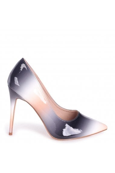 PHOENIX - Black Multi Ombre Effect Stiletto Court Heel