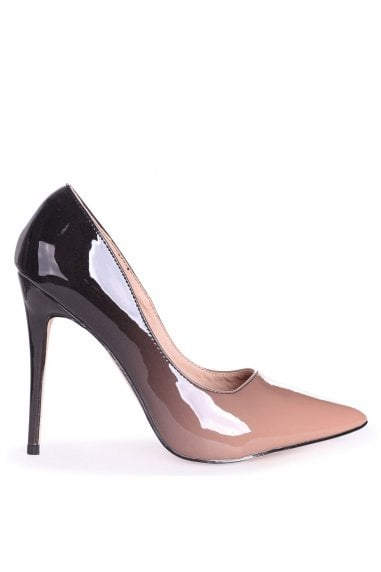 Phoenix Mocha Ombre Effect Stiletto Court Heels