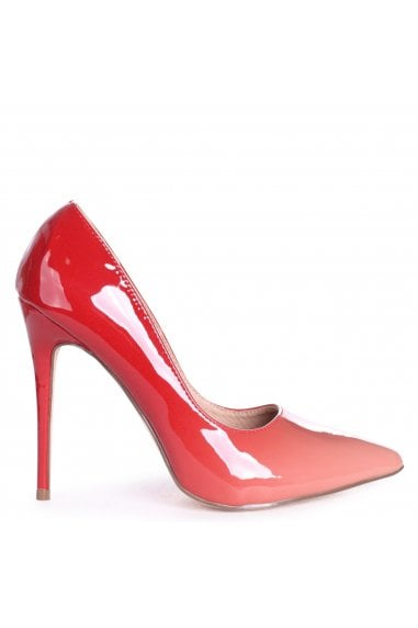 PHOENIX - Peach Ombre Effect Stiletto Court Heel