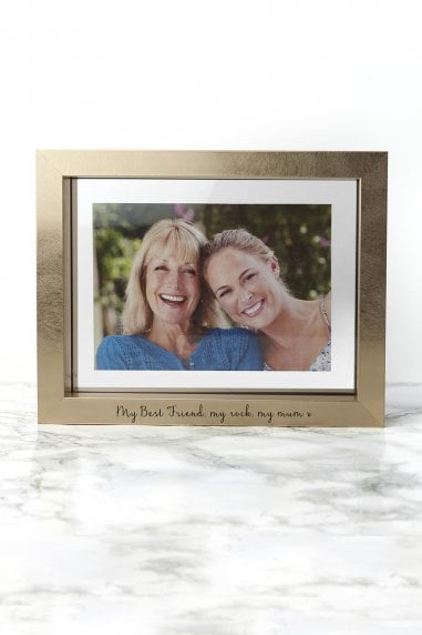 Personalised Metallic Gold Photo Frame
