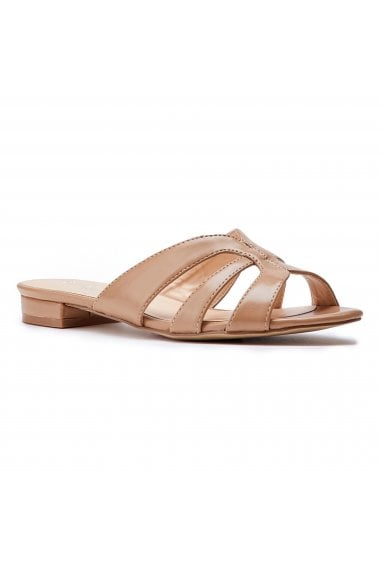 Sugary Tan Cutout Sliders