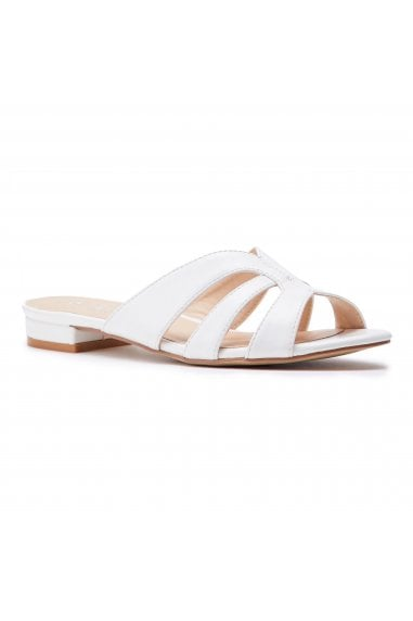 Sugary White Cutout Sliders