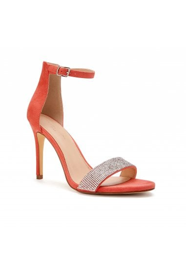 Vista Coral High Heel Barely There Ankle Strap Sandals