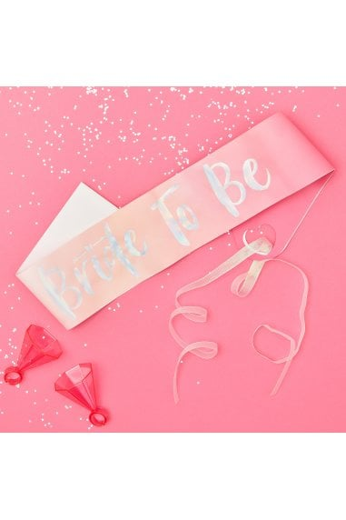 Ginger Ray Bride To Be Hen Sash