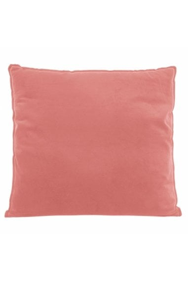 Coral Velvet Fabric Extra Large Floor Cushion