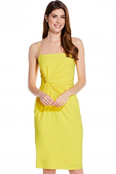 Sunbeam Wrap Detail Jersey Sheath Dress