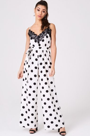 Chicago Monochrome Wide-Leg Jumpsuit