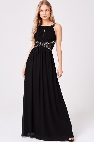 Black Empire Maxi Dress