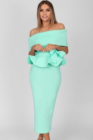 Tammy Mint Midi Dress