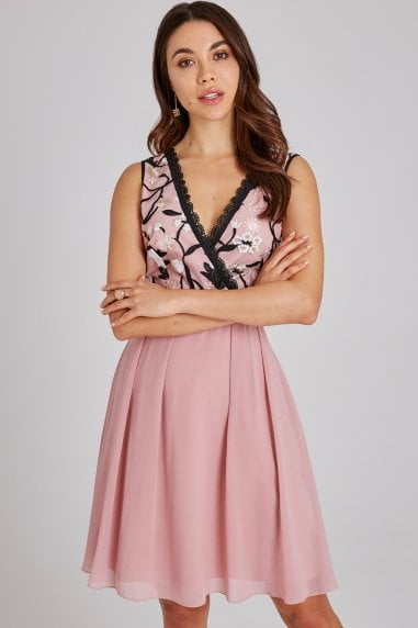 Cordelia Rose Floral Prom Dress