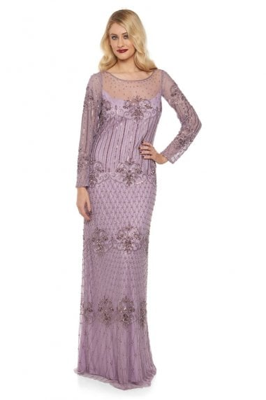 Dolores Maxi Prom Dress in Lavender