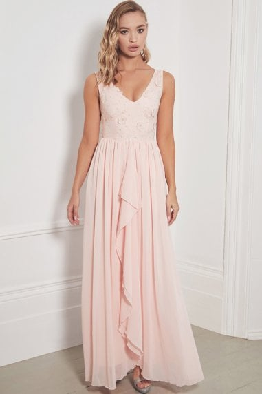 Special Edition Jessica Rose Baliena Blush Maxi Dress