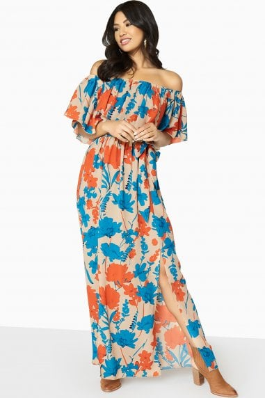Faithful Off The Shoulder Maxi Dress