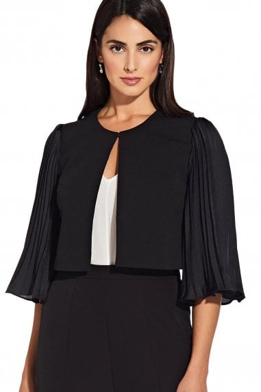 Black Pleated Jacket