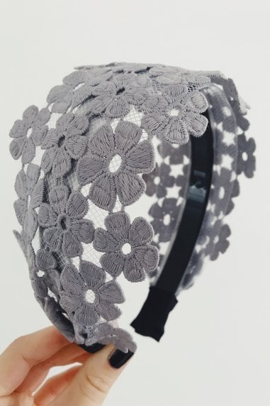 Blue Lace Hairband