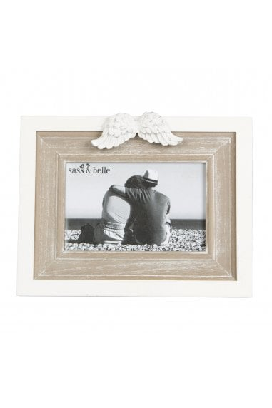 Angel Wings Landscape Photo Frame - S
