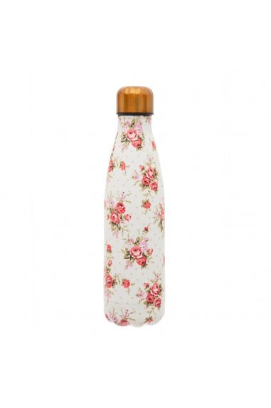Vintage Rose Stainless Steel Water Bottle