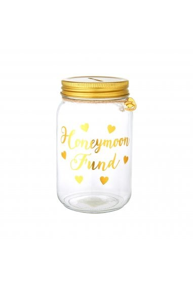 Honeymoon Fund Money Jar
