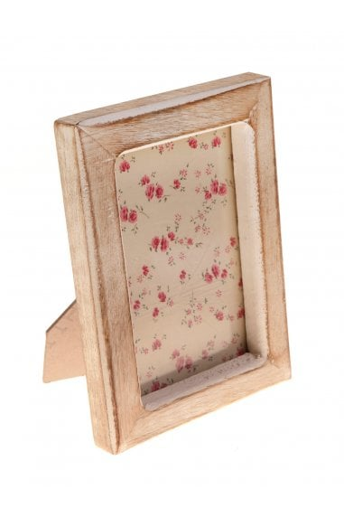White Wood Photo Frame