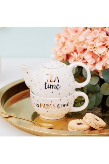 Mum Time Teapot For One