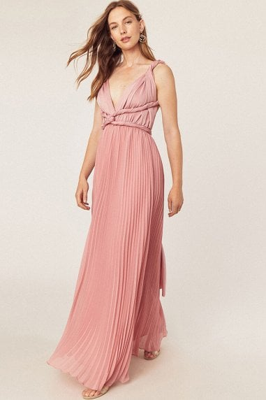 Wear It Your Way Pale Pink Maxi Dress