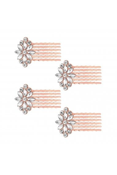 Multipack Rose Gold Combs