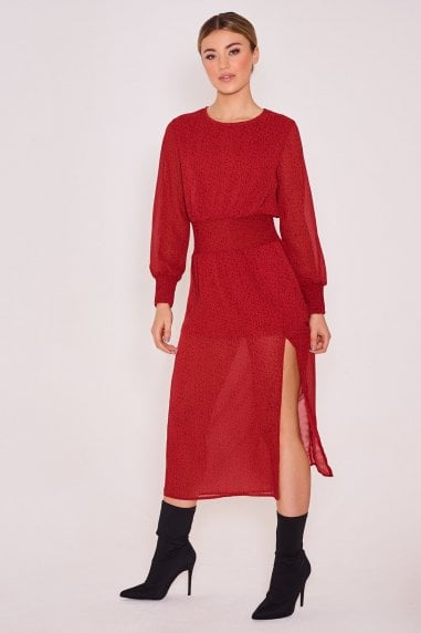 April Long Sleeve Dress