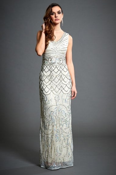 Embellished Wedding Guest Dress