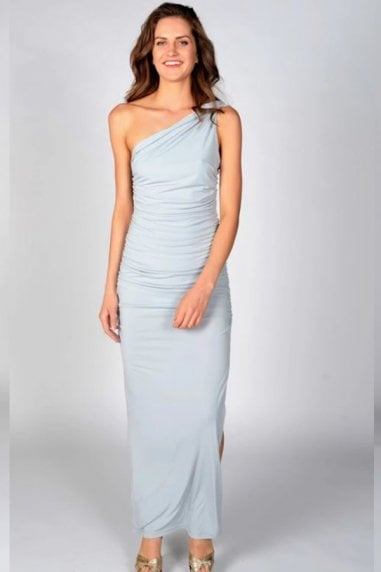 Angelina Mountain Mist Maxi Dress