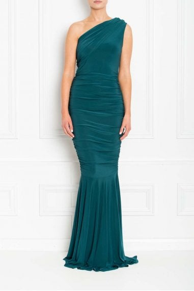 Alice Green Fishtail Maxi