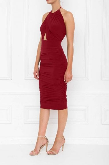 Erin Berry Midi Dress