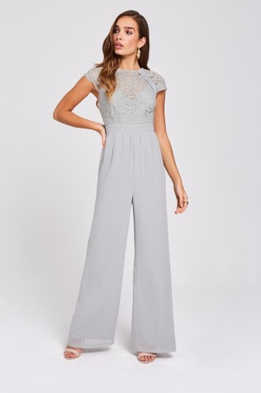 Lissa Waterlily Lace Jumpsuit