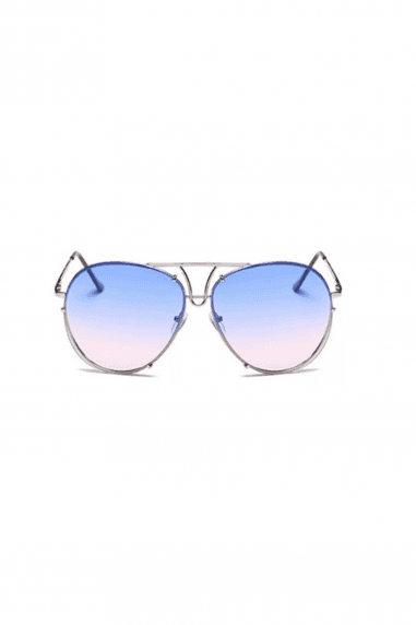 Whitney Bar Aviator Sunglasses