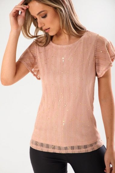 Ariane Occasion Top in Nude