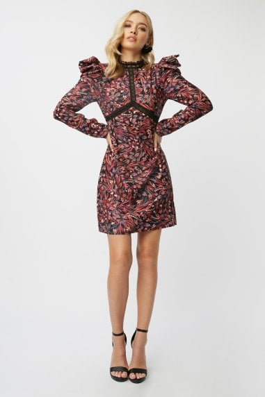 Rocco Paisley-Print Shift Dress