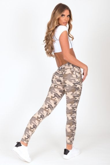 Camo Low Waist Jegging
