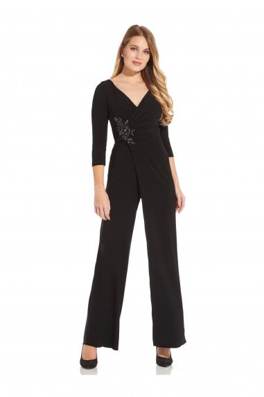 Shirred Jersey Jumpsuit