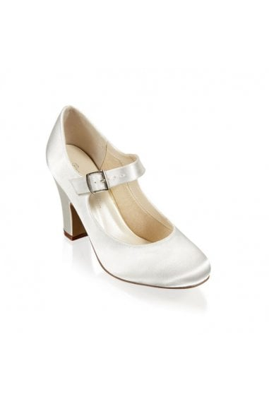Satin Dyeable 'Anita' High Heel Shoe