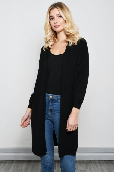 Light Lurex Cardigan in Black