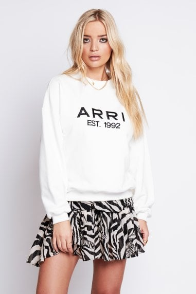 ARRI Ecru Cotton Sweatshirt