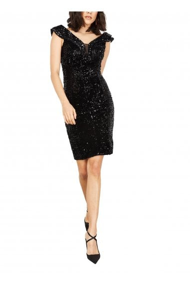 Stella Sequinned Bodycon Dress