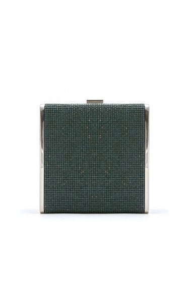 SADIE CRYSTAL COVERED BOX CLUTCH