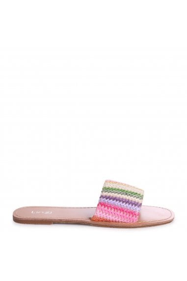 AMOR - Multicoloured Woven Rainbow Slider