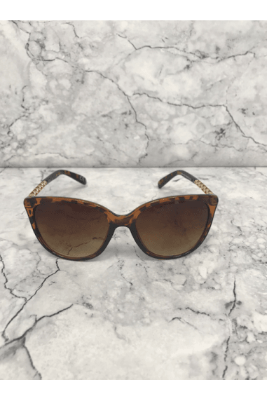 Tortoiseshell Gold Chain Arm Sunglasses