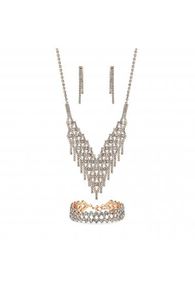 MOOD - By Jon Richard ROSE GOLD PLATE DIA 3PCS SET
