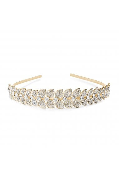 MOOD - By Jon Richard GOLD PLATE CRYSTAL HEADBAND