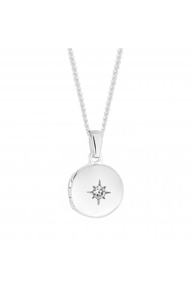 Simply Silver Sterling Silver 925 Mini Locket