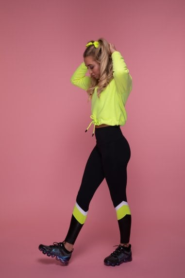 The Pulse Leggings (Yellow)